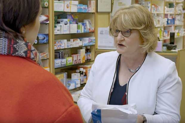 Carers Trust pharmacist