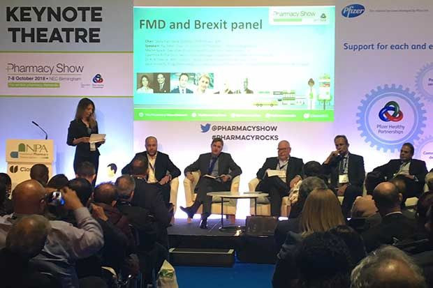 Claymore Richardson (third from left) spoke on a FMD panel at the Pharmacy Show