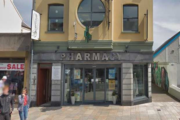 The supply took place at Harts Pharmacy in Newcastle, Northern Ireland (credit: © 2018 Google, image capture: June 2018)