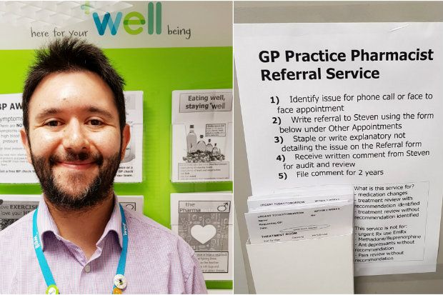 Sadik Al-Hassan is pharmacy manager at the Well branch in Kingswood, Bristol