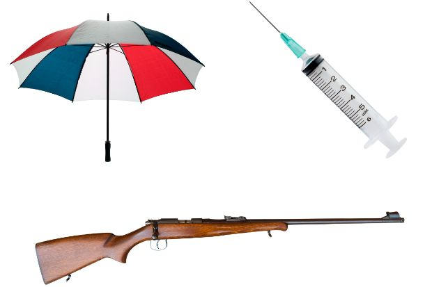 """A golf umbrella was used in relation to the """"fear or provocation of violence"""" in West Mercia"""