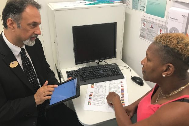 Boots pharmacy staff will be able to connect patients to translators live via the VOYCE app