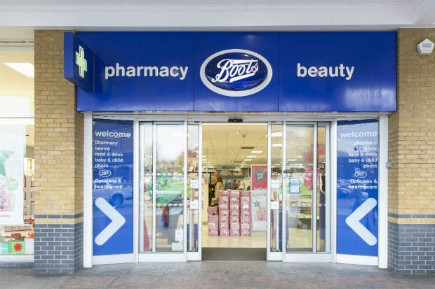 Walgreens Boots Alliance: Decrease primarily due to negative impact of reduction in UK funding