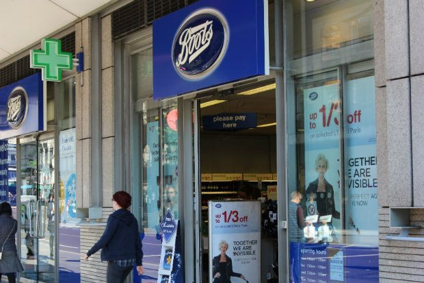 "Boots UK experienced ""growth"" between June and August 2017"