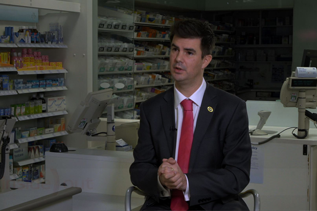 Richard Bradley claimed Boots has enough staff working in its pharmacies (Credit: Boots: Pharmacists under pressure?)