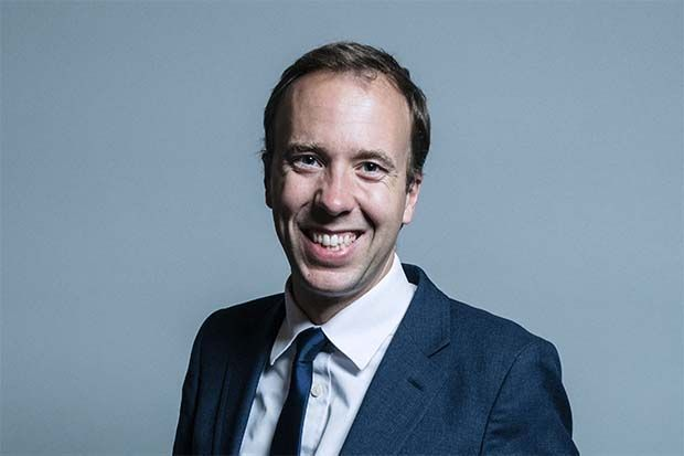 Whitworth's Richard Bradley: I doorstepped Matt Hancock (pictured) in the House of Commons (credit: Parliament)