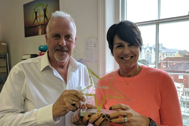 Pharmacy Complete principal associate Mike Holden and managing director Deborah Evans