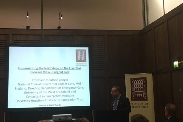 Professor Jonathan Benger: Different communities have different requirements