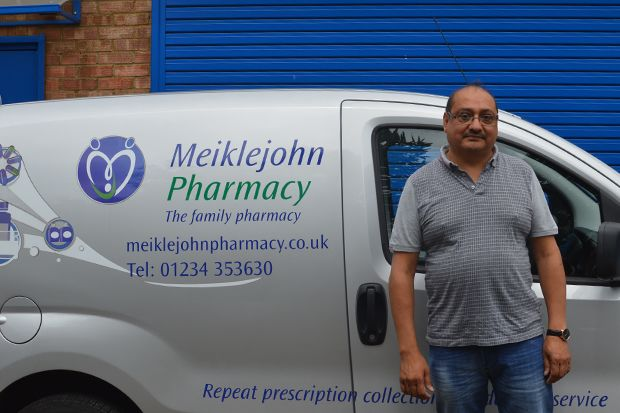 "Mr Panchal: Providing ""human contact"" to vulnerable patients is ""important"" part of his role"