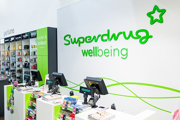 Superdrug: Investing in stores and online has helped us avoid the impact of the funding cuts