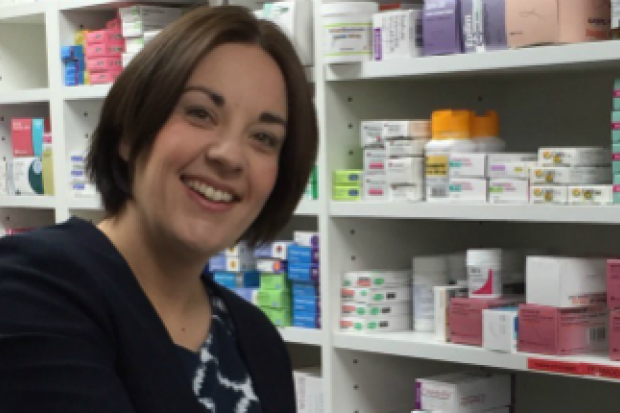 Scottish Labour leader Kezia Dugdale visited an Edinburgh pharmacy earlier this week