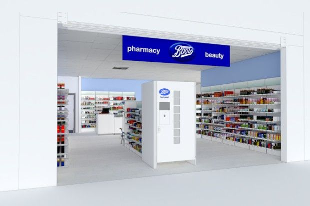 The lockers have already been introduced in two Boots stores, with three more scheduled this year