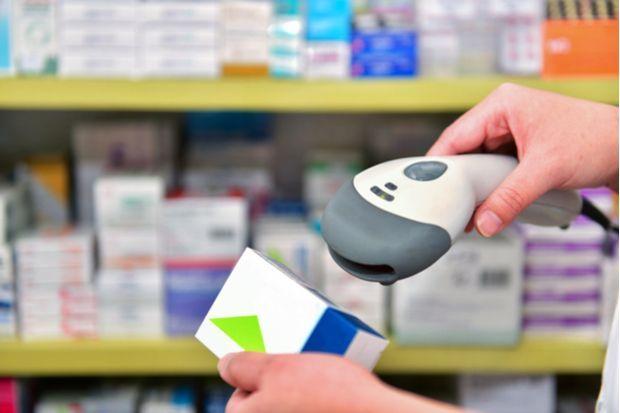 pharmacy scanner