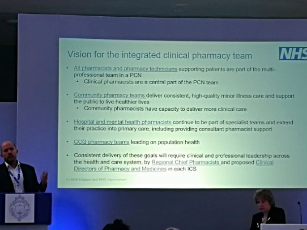 Richard Cattell: Where are the planned 7,500 pharmacists going to come from?