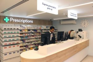 Boots: Patients can pick up their prescriptions from an express lane in two minutes or less