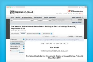 Amendments to the NHS terms of service for pharmacy are expected to come into force on July 1