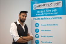 Mr Ahmed opened a walk-in minor illness and aesthetics clinic in June 2018