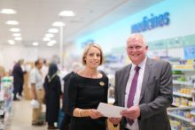 Anne Higgins, Boots director of stores, and Mark Pitt, PDA Union assistant general secretary