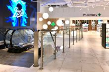 The new Boots branch in Covent Garden, London, opened to the public today