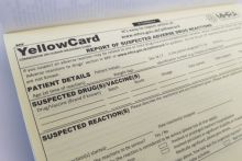 31% of respondents to C+D's poll submitted a yellow card report in the past year
