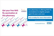 Pharmacies in England administered more than 1.3 million vaccinations last season (Credit: PSNC)