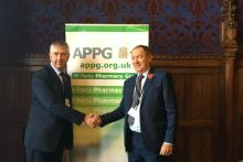 "CPNI's Gerard Greene (left) called on the APPG to ""intervene on our behalf"""
