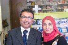 Rohpharm Pharmacy owner Jignesh Patel and Project Surgery GP Farzana Hussain