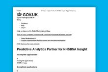 The NHS BSA is looking for a digital company to analyse its pharmacy data over a two-year period