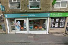 Rowlands Pharmacy in Queensbury. Credit: © 2017 Google, image capture: September 2016