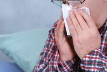 Sinusitis symptoms may include nasal blockage, stuffiness or congestion