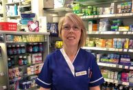 Pharmacy manager Barbara Cobon alerted her team that a patient was having a heart attack