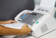 NHS England reminded pharmacies to only use fax when no other communication is available