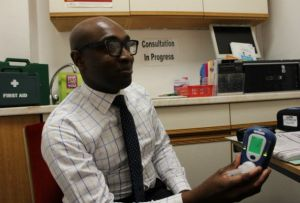 Taking services out of the pharmacy helps Mr Williams connect with hard-to-reach patients