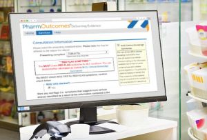 Pharmacists must use a DMIRS online system to record patient information during consultations